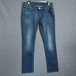 Levi's Demi Curve Low Rise Straight  Jeans 32 L31